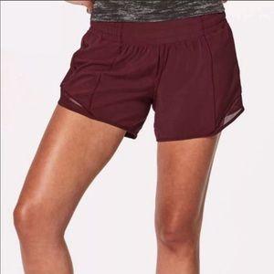 Lululemon shorts plum